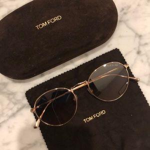 Tom Ford rose gold sunglasses